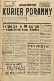 Krakowski Kurier Poranny : niezależny organ demokratyczny. 1938, nr176