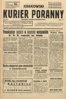Krakowski Kurier Poranny : niezależny organ demokratyczny. 1938, nr179