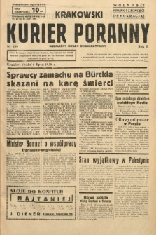 Krakowski Kurier Poranny : niezależny organ demokratyczny. 1938, nr180