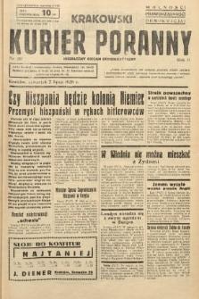Krakowski Kurier Poranny : niezależny organ demokratyczny. 1938, nr181