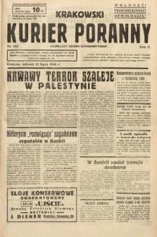 Krakowski Kurier Poranny : niezależny organ demokratyczny. 1938, nr186