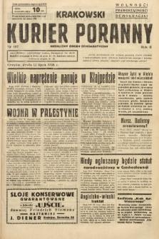 Krakowski Kurier Poranny : niezależny organ demokratyczny. 1938, nr187