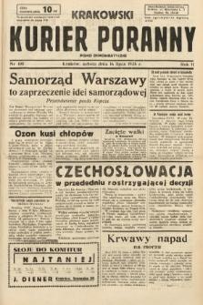 Krakowski Kurier Poranny : pismo demokratyczne. 1938, nr190