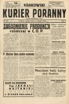Krakowski Kurier Poranny : pismo demokratyczne. 1938, nr211
