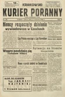 Krakowski Kurier Poranny : pismo demokratyczne. 1938, nr218