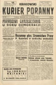 Krakowski Kurier Poranny : pismo demokratyczne. 1938, nr219
