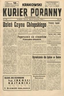 Krakowski Kurier Poranny : pismo demokratyczne. 1938, nr221