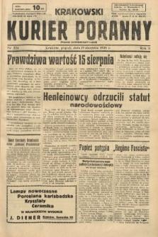 Krakowski Kurier Poranny : pismo demokratyczne. 1938, nr224