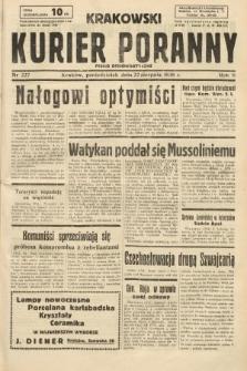 Krakowski Kurier Poranny : pismo demokratyczne. 1938, nr227