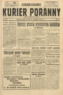 Krakowski Kurier Poranny : pismo demokratyczne. 1938, nr232