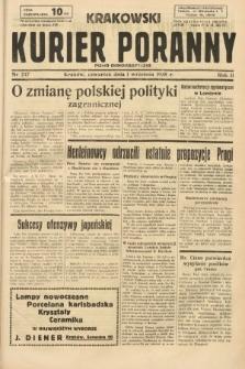 Krakowski Kurier Poranny : pismo demokratyczne. 1938, nr237