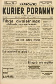 Krakowski Kurier Poranny : pismo demokratyczne. 1938, nr244