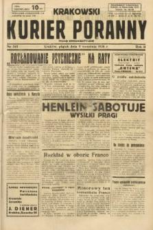 Krakowski Kurier Poranny : pismo demokratyczne. 1938, nr245