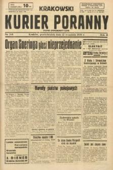 Krakowski Kurier Poranny : pismo demokratyczne. 1938, nr248