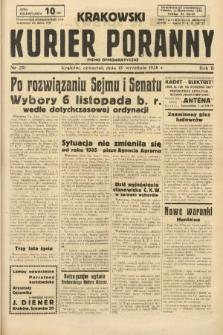 Krakowski Kurier Poranny : pismo demokratyczne. 1938, nr251