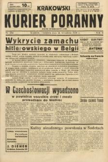 Krakowski Kurier Poranny : pismo demokratyczne. 1938, nr254