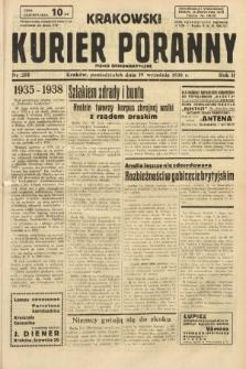 Krakowski Kurier Poranny : pismo demokratyczne. 1938, nr255