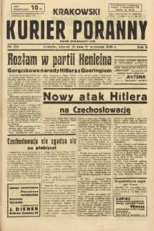 Krakowski Kurier Poranny : pismo demokratyczne. 1938, nr256