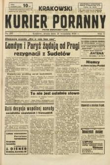 Krakowski Kurier Poranny : pismo demokratyczne. 1938, nr257