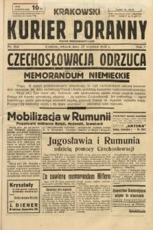 Krakowski Kurier Poranny : pismo demokratyczne. 1938, nr263