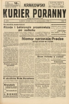 Krakowski Kurier Poranny : pismo demokratyczne. 1938, nr278