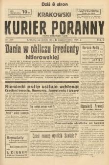 Krakowski Kurier Poranny : pismo demokratyczne. 1938, nr279