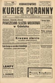 Krakowski Kurier Poranny : pismo demokratyczne. 1938, nr288