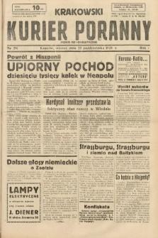 Krakowski Kurier Poranny : pismo demokratyczne. 1938, nr291
