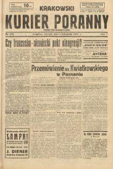 Krakowski Kurier Poranny : pismo demokratyczne. 1938, nr298