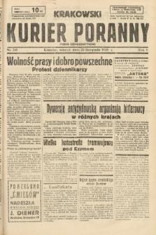 Krakowski Kurier Poranny : pismo demokratyczne. 1938, nr319