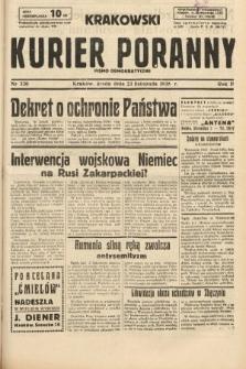 Krakowski Kurier Poranny : pismo demokratyczne. 1938, nr320
