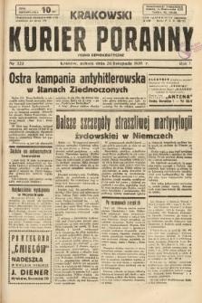 Krakowski Kurier Poranny : pismo demokratyczne. 1938, nr323