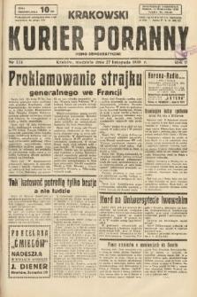 Krakowski Kurier Poranny : pismo demokratyczne. 1938, nr324