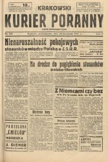 Krakowski Kurier Poranny : pismo demokratyczne. 1938, nr325