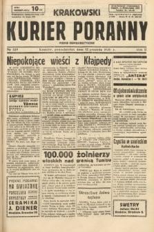 Krakowski Kurier Poranny : pismo demokratyczne. 1938, nr339
