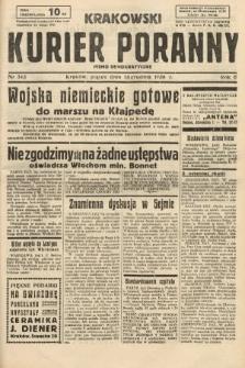 Krakowski Kurier Poranny : pismo demokratyczne. 1938, nr343