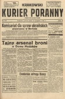 Krakowski Kurier Poranny : pismo demokratyczne. 1938, nr344