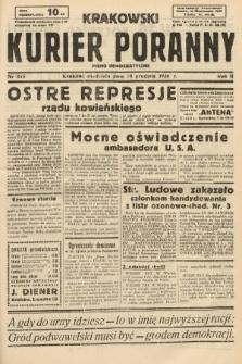 Krakowski Kurier Poranny : pismo demokratyczne. 1938, nr345