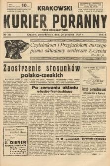 Krakowski Kurier Poranny : pismo demokratyczne. 1938, nr351