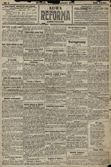 Nowa Reforma (numer poranny). 1913, nr1