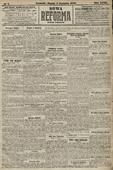 Nowa Reforma (numer poranny). 1913, nr3