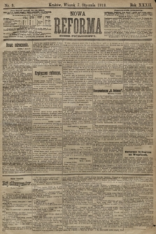 Nowa Reforma (numer popołudniowy). 1913, nr9