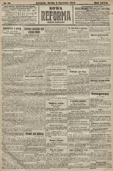 Nowa Reforma (numer poranny). 1913, nr10