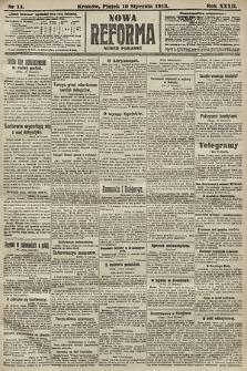 Nowa Reforma (numer poranny). 1913, nr14