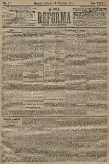 Nowa Reforma (numer popołudniowy). 1913, nr17