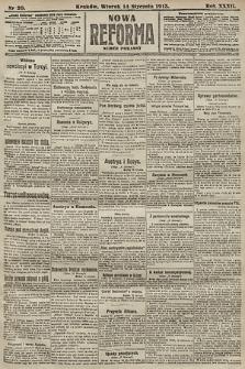 Nowa Reforma (numer poranny). 1913, nr20