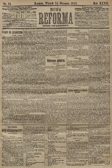 Nowa Reforma (numer popołudniowy). 1913, nr21