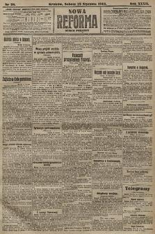 Nowa Reforma (numer poranny). 1913, nr28