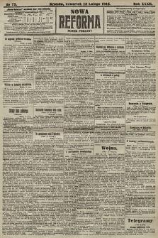 Nowa Reforma (numer poranny). 1913, nr72