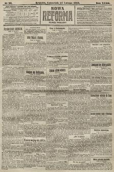 Nowa Reforma (numer poranny). 1913, nr96